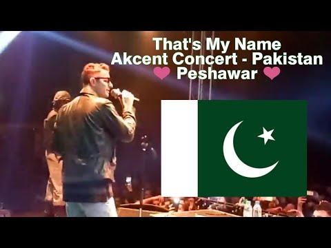 That's My Name - Akcent - Peshawar Concert in Roots Millenium School - Pakistan- Full Song - HD