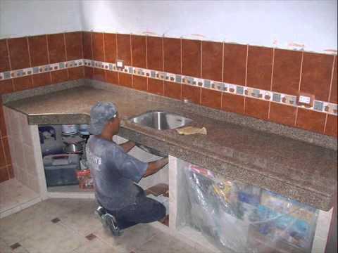 Maestro marmol granito en lima per youtube for Cocinas de marmol