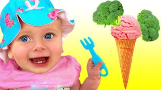 Ты любишь брокколи с мороженым - Детская песня | Песни для детей с Майей и Машей #2