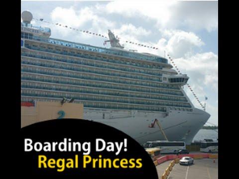Boarding the Regal Princess Cruise Ship [Vlog episode 1]
