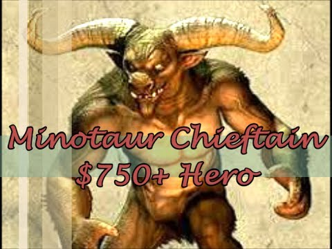 Castle Clash Minotaur Chieftain + Giveaway Announced