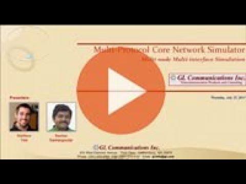 Multi Protocol Core Network Simulator
