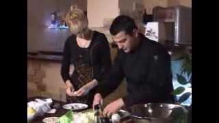 КУШАТЬ ПОДАНО 12 10 2013 в Гранд Кафе! Готовим салат с куриной печенью