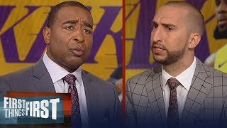 Should LeBron have power to veto roster decisions in Los Angeles? | NBA | FIRST THINGS FIRST