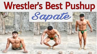 Indian Wrestlers best Pushups - Sapate  || Kushti Ke Deewane ||