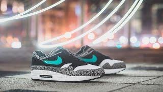 """Review & On-Feet: Atmos x Nike Air Max 1 Premium Retro """"Elephant"""""""