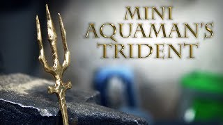 Making mini Aquaman's trident - Tiny weapon