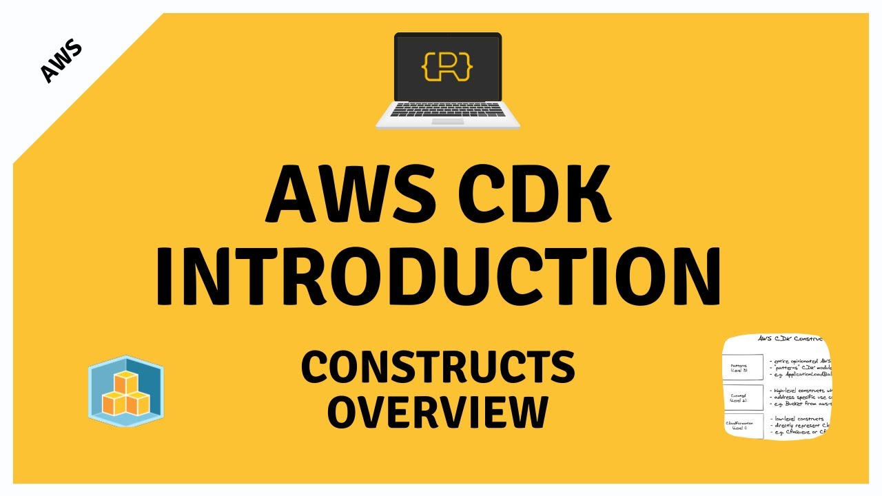Overview of the Different AWS CDK Constructs