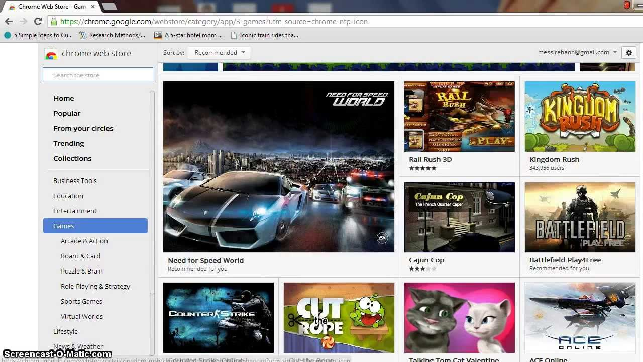How To Download Games In Google Chrome Youtube