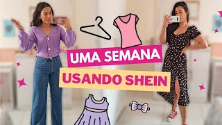 UMA SEMANA DE LOOK'S SHEIN - MOSTREI OS NOVOS 💜