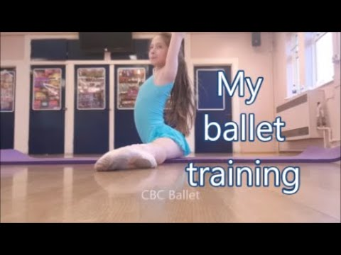 my ballet class training for flexibility stretch