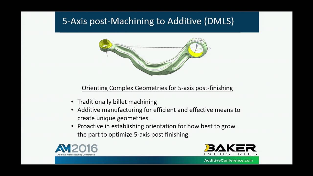 Integrating 3D Printing & Traditional Manufacturing - Baker Industries at IMTS