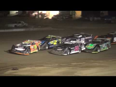 IMCA Late Model feature Independence Motor Speedway 8/5/17