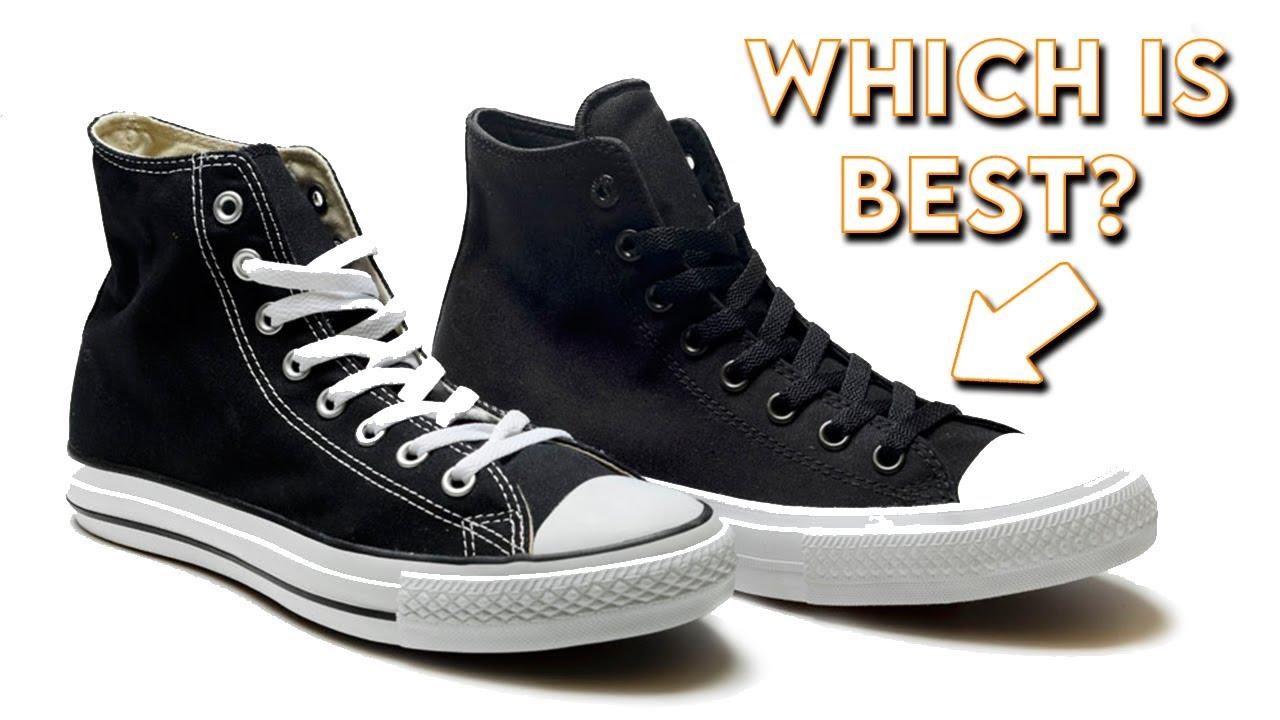 converse vs chuck taylor