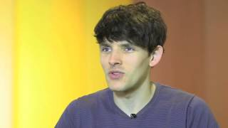 Colin Morgan describes playboy Jimmy Minor Quirke