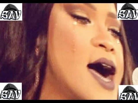 Rihanna LLora en Pleno Concierto en Dublin 2016