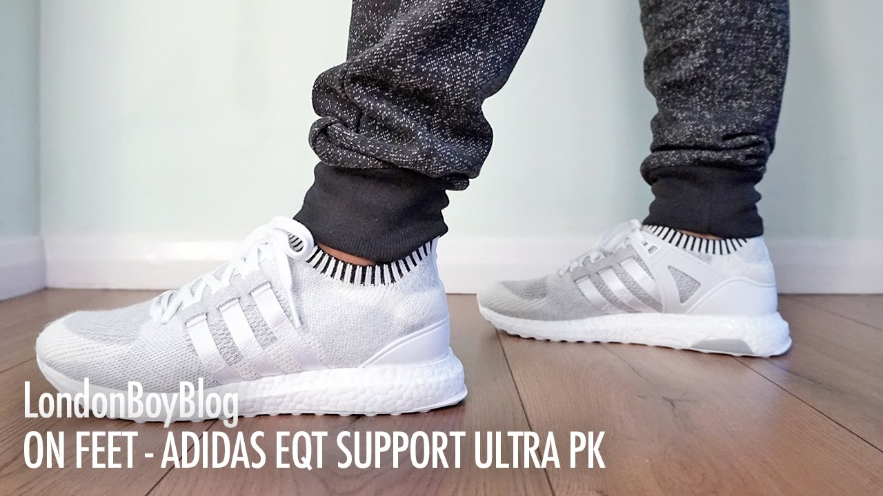 On EQT Feet Adidas EQT On Support Ultra PK a7c57b