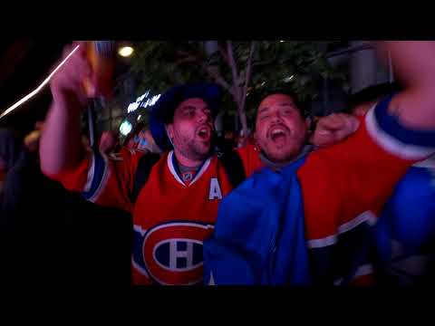 Montreal, habs, centre bell crowd last night