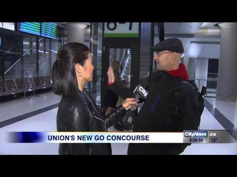 Union station's new GO concourse