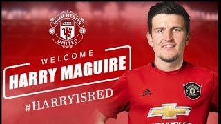 Harry Maguire signs for Manchester United! Man United Transfer News