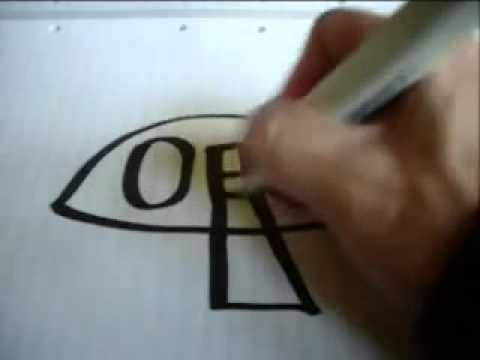 Как из слова нарисовать картинку