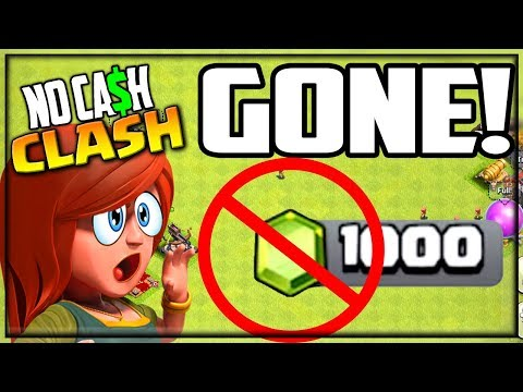FREE To Play Gems GONE! Clash Of Clans No Cash Clash Episode 67