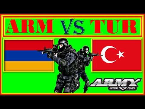 Армения VS Турция Сравнение Армии и Военной мощи