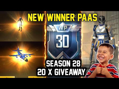 😤 FREE WINNER PAAS SEASON 28   PUBG LITE NEW WINNER PAAS SEASON 28 MAX OUT ? SAMSUNG A3,A5,A6,A7,J2
