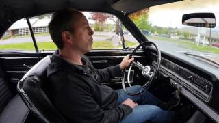 Factory Black 1966 Ford Fairlane Test Drive