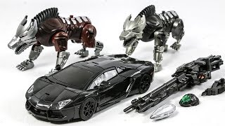 Transformers 4 AOE KO LOCKDOWN VT-01 Bounty Hunter Car Transform Robot Toys