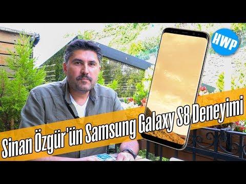Samsung Galaxy S8 ile 15 Gün - Sinan Özgür