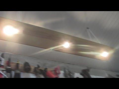 Светильник для освещения в гараже - как обустроить гараж