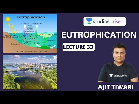 Eutrophication | Mastering The Environment And Ecology | UPSC CSE 2020