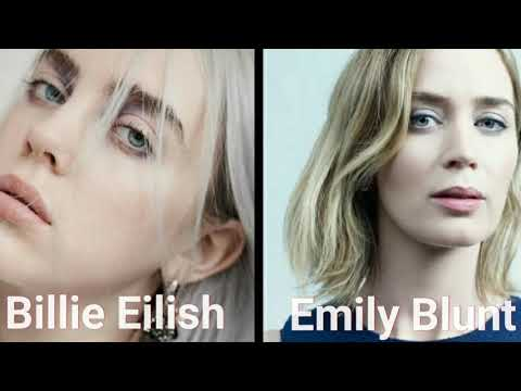 Billie Eilish Look Alike Emily Blunt Scarlett Johansson Youtube