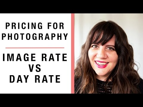 pricing photography: Image use vs day rate