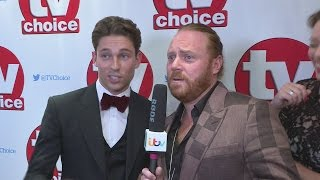 TV Choice Awards: Keith Lemon turns interviewer for Joey Essex