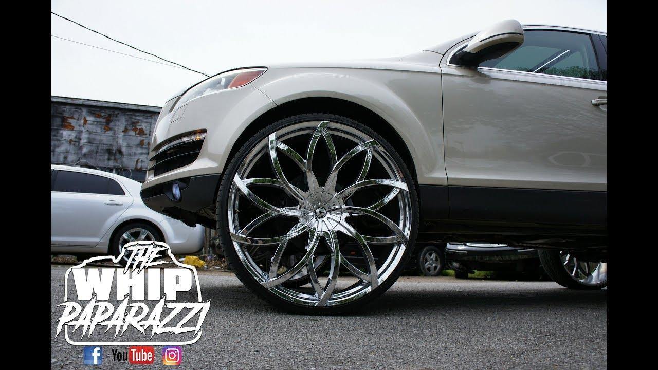 Audi Q7 On 30 Azara Aza 504 Wheels Youtube