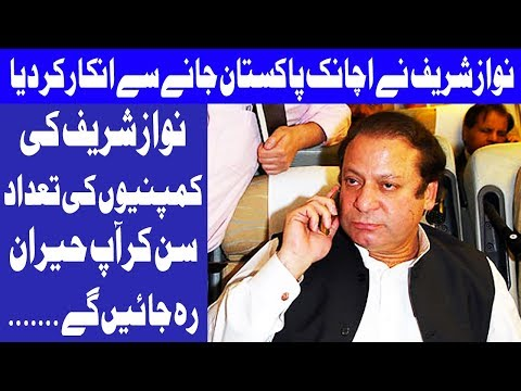 Date of Nawaz Sharif's return to Pakistan from London changed - Headlines 12 PM - 20 Oct 2017 -Dunya