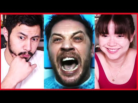 VENOM   Tom Hardy   Official Teaser Trailer Reaction!