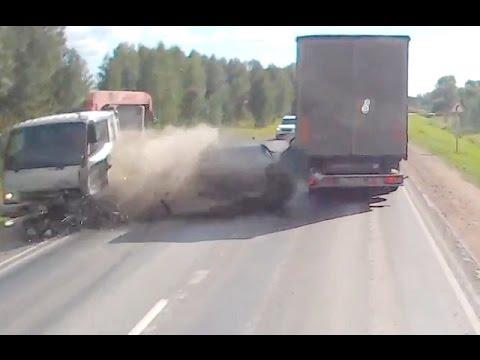 Жесткие аварии грузовиков с автомобилями - Простые вкусные домашние видео рецепты блюд