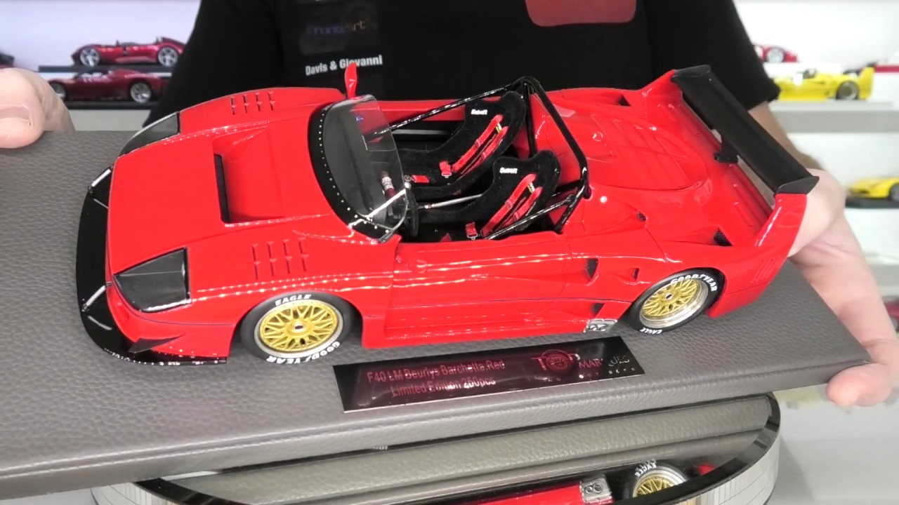 Ferrari F40 Michelotto Spider by Top Marques Models - Full Review