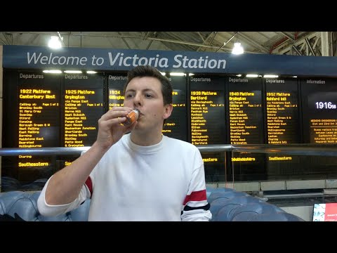Ginger Zinger at Victoria Train Station #106
