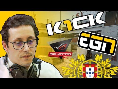 """ZORLAK ROG MASTERS - K1CK vs EGN [Cache] - """"este jogo levanta qualquer pessoa da cadeira"""""""