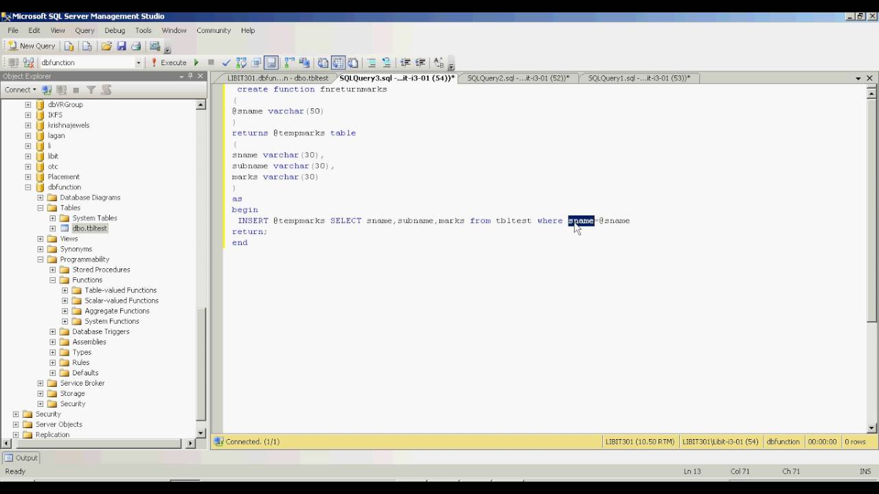 Sql functions tutorial in hindi youtube sql functions tutorial in hindi baditri Images