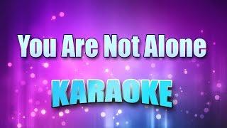 Jackson, Michael - You Are Not Alone (Karaoke & Lyrics)