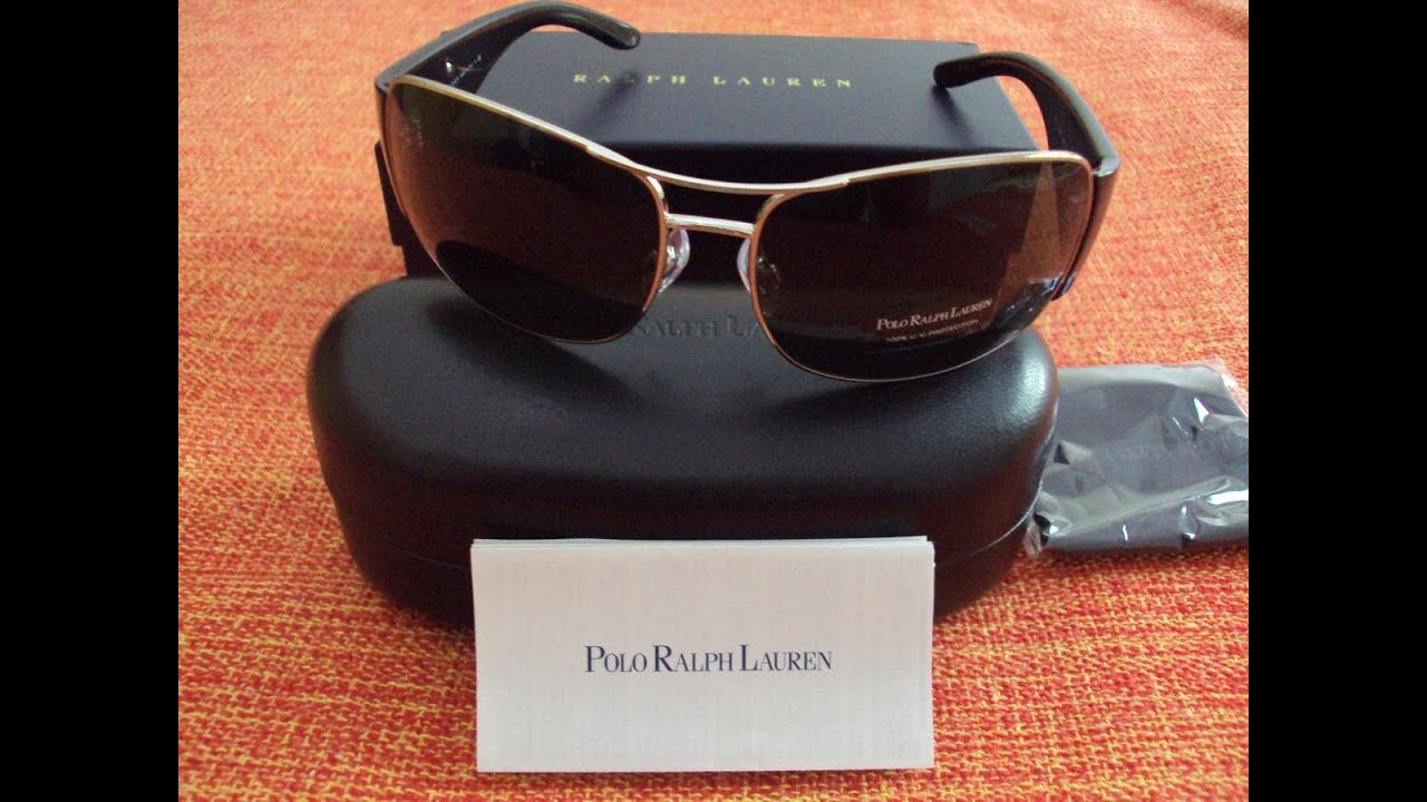 IDENTIFICAR LENTES POLO RALPH LAUREN ORIGINALES DE FALSOS - YouTube