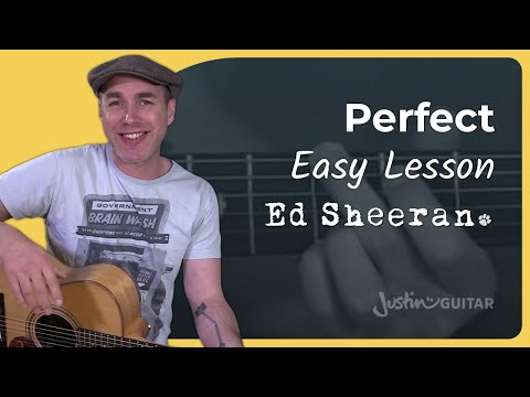 How to play Perfect by Ed Sheeran - Guitar Lesson Tutorial Acoustic