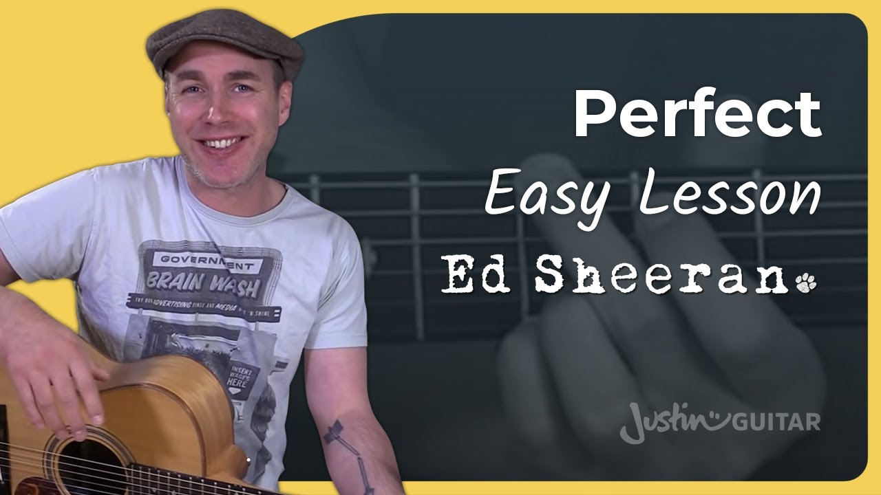 How To Play Perfect By Ed Sheeran Guitar Lesson Tutorial Acoustic