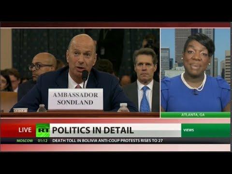Congress hears Amb Sondland's much-anticipated testimony