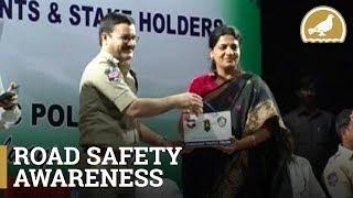 Hyderabad Traffic Police Road Safety Awareness program